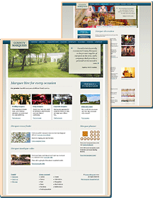 County Marquees website