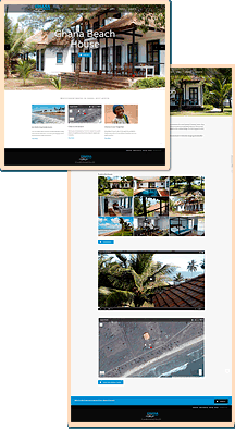 Ghana Beach House website